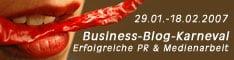 Business Blog Karneval : Erfolg & PR