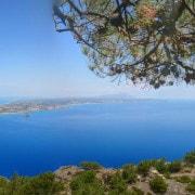 Blick auf die Bucht von Kefalos