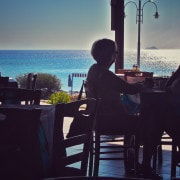 Essen direkt am Meer
