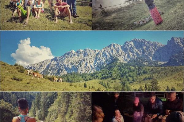 almzeit collage