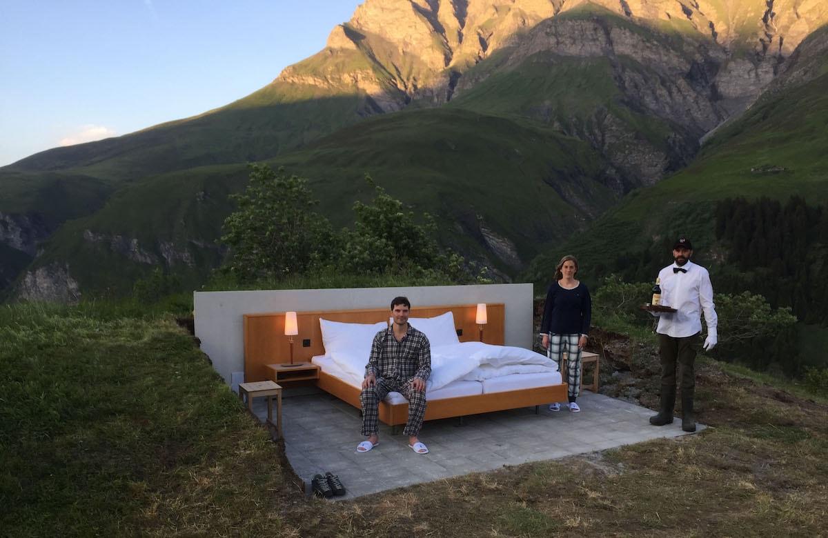 Luxus anders definiert. Das Null-Stern Hotel unter freiem Himmel.