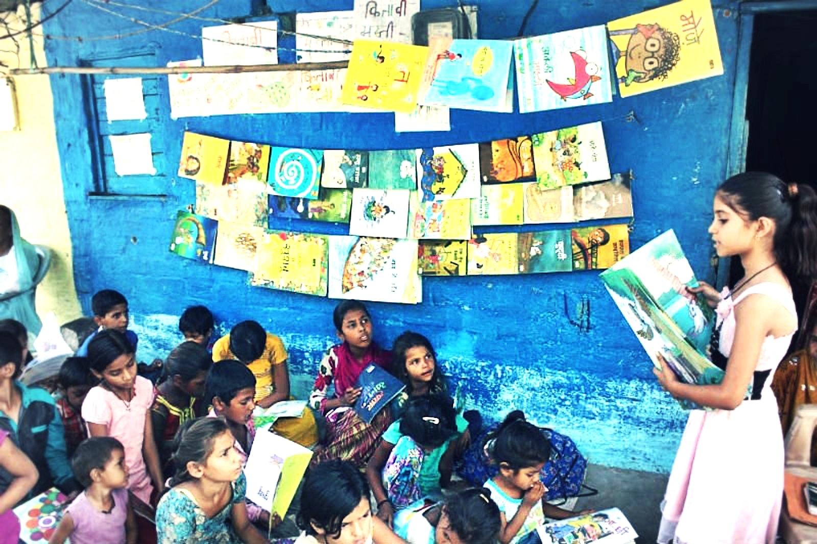 Eine 9-jährige verändert ihre Welt. // Die Bibliothek für Kinder.