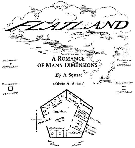 Flächenland. Edwin Abbott