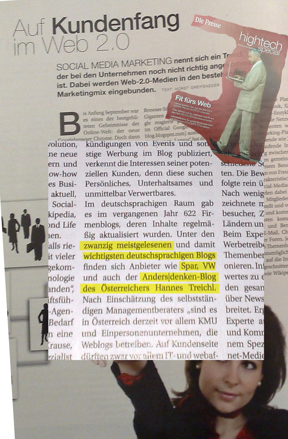 Hannes Treichl Presse