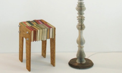 Bücherstuhl