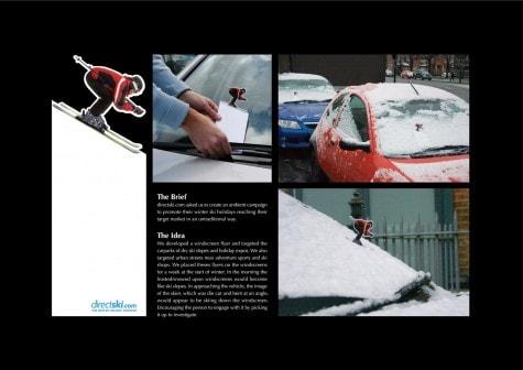 Werbeidee für den nächsten Winter
