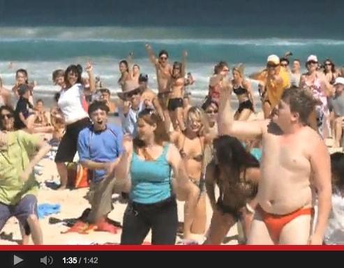 Flashmobs in der Werbung