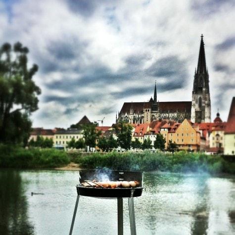 Grillen in Regensburg