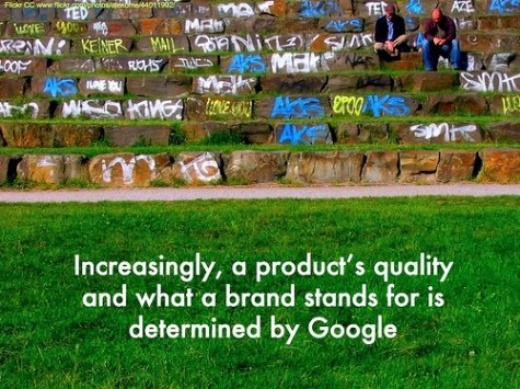 Bewertungsplattformen, Blogs und Grafitti