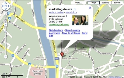 marketing deluxe, wopfnerstrasse 9, schwaz, tirol, austria