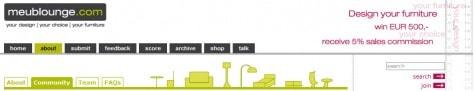 Demokratisierung des Möbeldesign(er)s: Meublounge.com