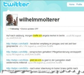 Wilhelm Willi Molterer Twitter