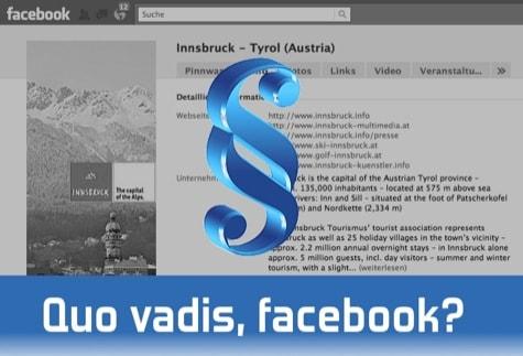 Hijacking? – Wenn ein Tourismusverband Facebook entdeckt…