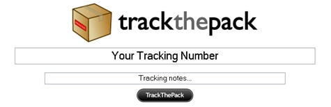 Track the pack: Wo ist mein Paket?