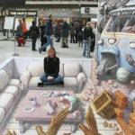 50 grandiose Straßenmalereien in 3D